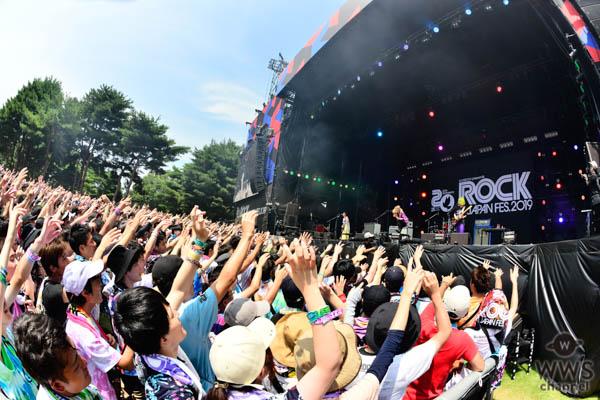 """【ライブレポート】SCANDALがPARK STAGEで""""神セトリ""""全9曲を披露!〈ROCK IN JAPAN FESTIVAL 2019〉"""