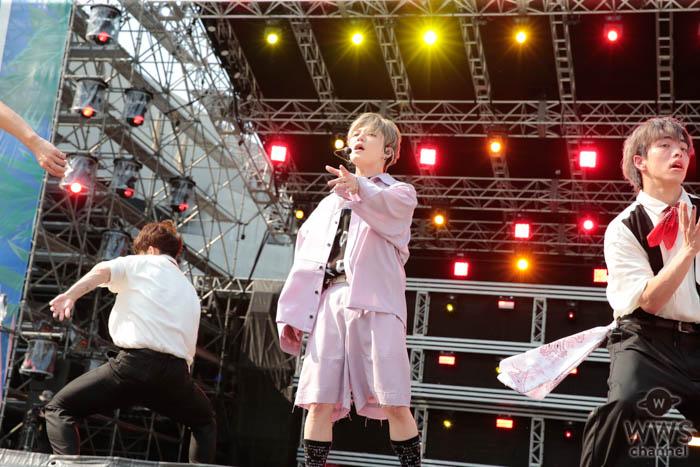 【ライブレポート】Shuta Sueyoshi(AAA・末吉秀太)が「a-nation 2019」大阪公演にトップ出演!甘い歌声で会場を包み込む <a-nation 2019>