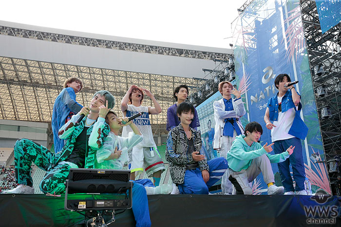 SUPER★DRAGONが「a-nation 2019」大阪公演で息の合ったパフォーマンスを見せつける!<a-nation 2019>