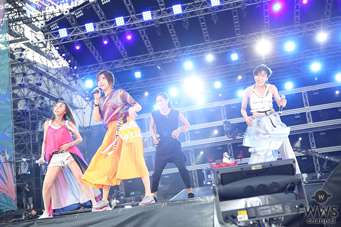TRFが「a-nation 2019」大阪公演で見せる往年のパフォーマンスに会場熱狂!<a-nation 2019>