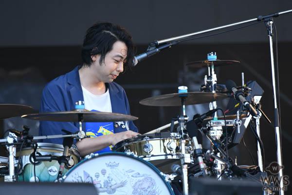 【ライブレポート】UNISON SQUARE GARDENがほぼノンストップ、怒涛の演奏で魅せる!〈ROCK IN JAPAN FESTIVAL 2019〉