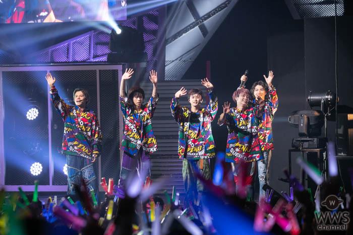 【ライブレポート】超特急、メンバーとファンに感謝「東京ドームに向けて」未来を強く約束!『EUPHORIA』ツアー 横浜ライブレポート