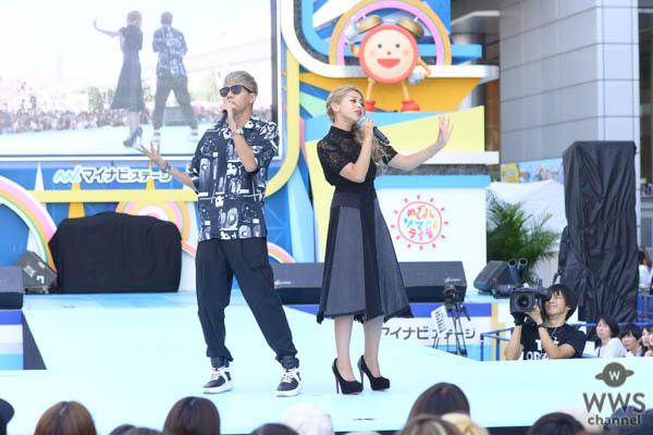 ゆきぽよ&SLOTHがめざましライブ×TGCのコラボステージでデュエットソング披露!