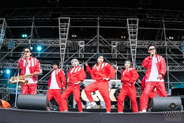 【ライブレポート】C&Kが氣志團万博2019で煽りまくりのステージングに会場熱狂!
