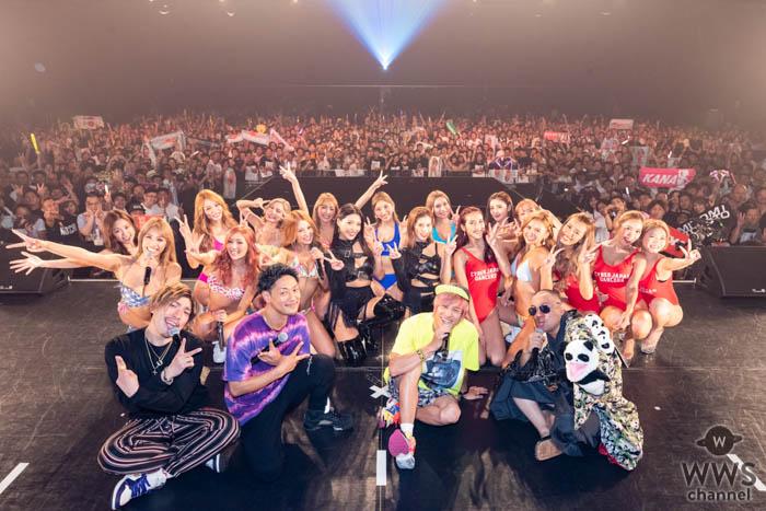 CYBERJAPAN DANCERS、初の主催ライブにレイザーラモンRG、EXITも登場!