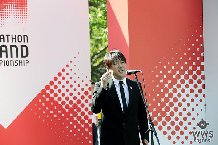 小渕健太郎(コブクロ)、2020東京オリンピック日本代表選考レースで国歌独唱