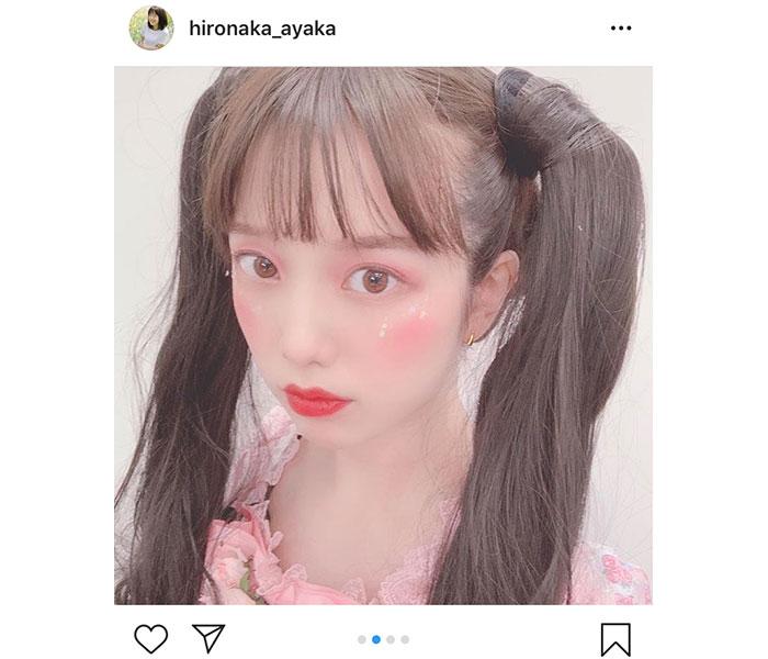 弘中綾香アナウンサーの人生初挑戦のゴスロリファッションに喜び
