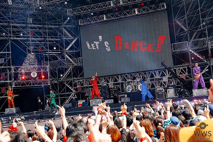 【ライブレポート】氣志團が、氣志團万博2019のステージで、観客・出演者にエンジンをかける圧巻のパフォーマンス!