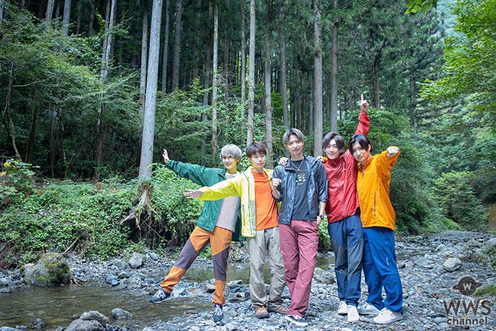 5人組ボーイズユニットCUBERS、「CUBERSの2泊3日いいね❤キャンプ生活」スタート!