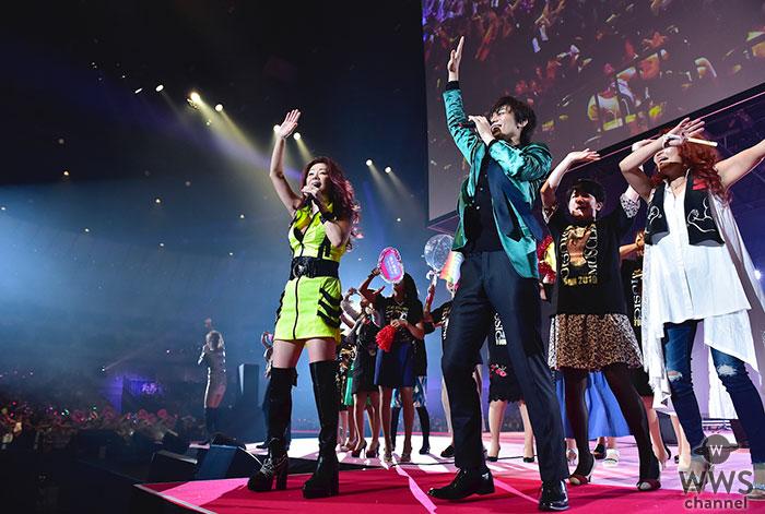 新浜レオン、初の横浜アリーナセンターステージで 大黒摩季と夢の共演!