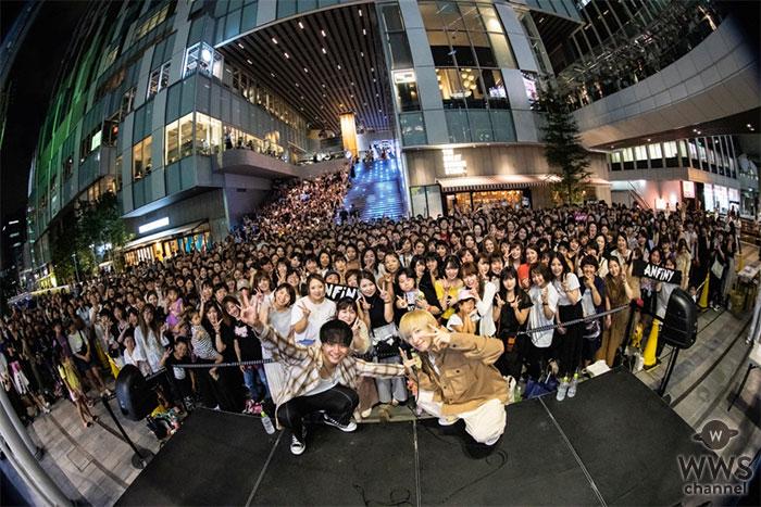 """ボーカルユニット""""ANFiNY""""結成当時より続けていたストリートライブを9/7に卒業!渋谷ストリームにて卒業式を開催!"""