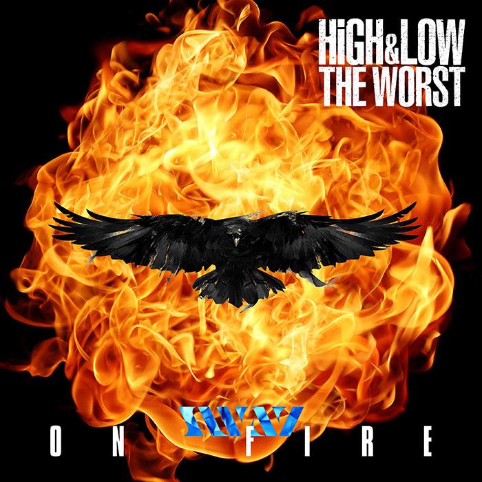 SWAY、映画『HIGH&LOW THE WORST』劇中歌、「中・中一派」のテーマ曲となる新曲「ON FIRE」が10月2日配信決定!