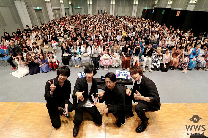 シド、東京と大阪でアルバムリリース記念トークイベントを開催! イベントの様子はLINE LIVEで生配信!イベント終了後にはメンバーによる<承認会>も!