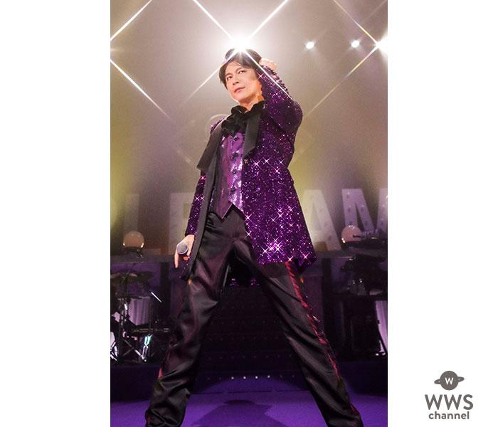 及川光博、WOWOWでワンマンショーツアーのライブダイジェスト映像を先行公開!
