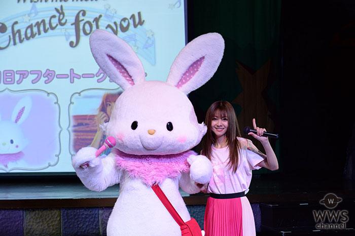 倉木麻衣が名曲「chance for you」を生歌披露で最愛のキャラクター「ウィッシュミーメル」の初主演をお祝い!