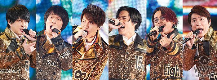 関ジャニ∞、全国5大ドームツアー 「十五祭」 DVD & Blu-ray 発売決定!