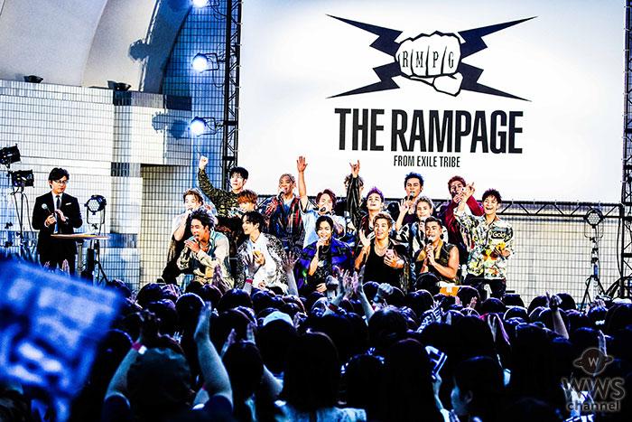 THE RAMPAGE、結成5周年記念野外イベントに1万人が集結! 新曲「SWAG & PRIDE」初披露!