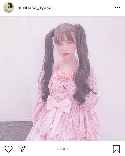 弘中綾香、アナウンサーの人生初挑戦のゴスロリファッションに喜び