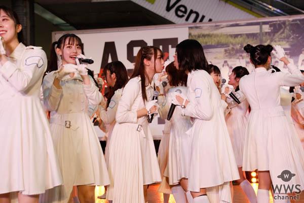 ラストアイドル、7thシングル『青春トレイン』発売記念イベントを開催!NON STYLE石田明がサプライズ出演でリアル「石田を探せ」が実現!