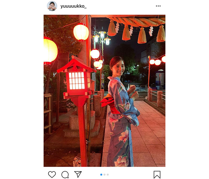 新木優子、夏の終わりに美麗な浴衣ショット公開!「笑顔に癒やされます」