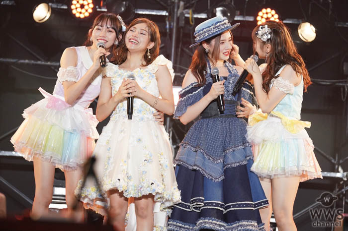 北川綾巴、後藤楽々、夢を見つけた旅立つ2人の最後のライブステージ「これからもSKE48をよろしくお願いします」