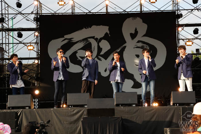 ゴスペラーズ、コラボで高橋優はアカペラ初挑戦!<秋田CARAVAN MUSIC FES 2019>
