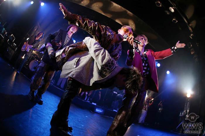 4ボーカルバンドBuZZ、初LIQUIDROOM単独公演で新曲2曲をサプライズ発表!