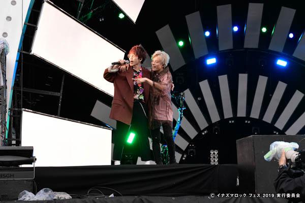 Da-iCE、『イチタスイチ』含む7曲を熱狂的パフォーマンスで魅せる!<イナズマロックフェス2019>