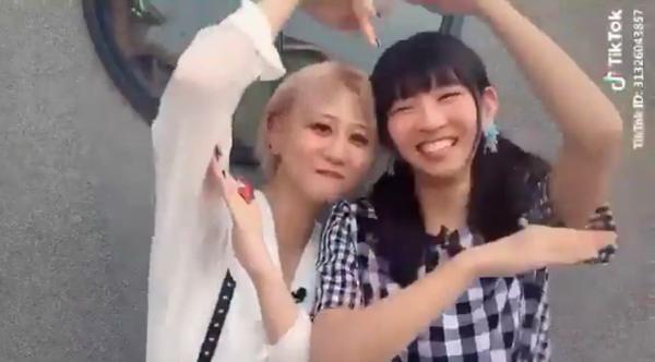 SKE48・古畑奈和とでんぱ組.inc・古川未鈴のラブラブTikTok動画が話題に!「付き合いたてのカップルやん」