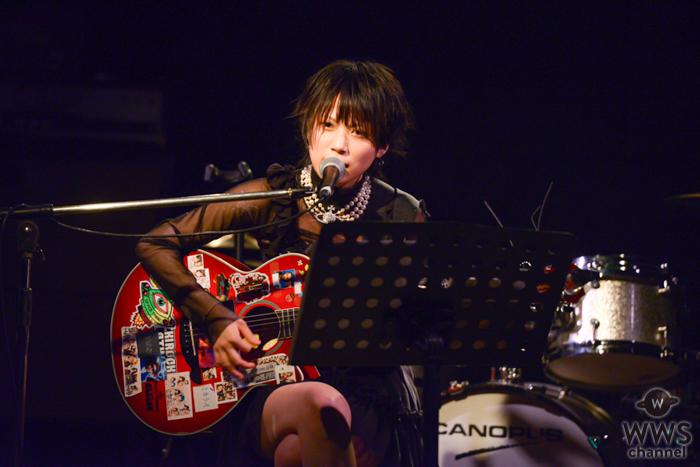 【ライブレポート】kinoshita、アコースティックの弾き語りで心揺さぶる旋律を届ける!