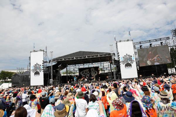 KANABOONが高橋優主催フェス2日目のステージに出演!<秋田 CARAVAN MUSIC FES 2019>