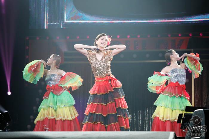 【ライブレポート】May J.が「岡村隆史のオールナイトニッポン歌謡祭」に5年連続で登場!早着替えでガラリとイメージチェンジ!