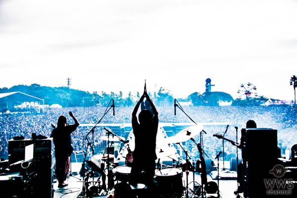 【ライブレポート】マキシマム ザ ホルモンが氣志團万博のステージに登場!華々しく大復活を遂げる