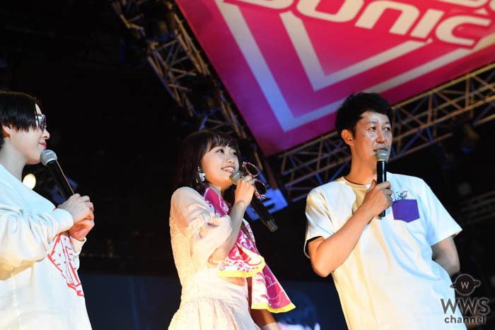 NGT48・中井りかが「KOYABU SONIC 2019」にサプライズ登場!