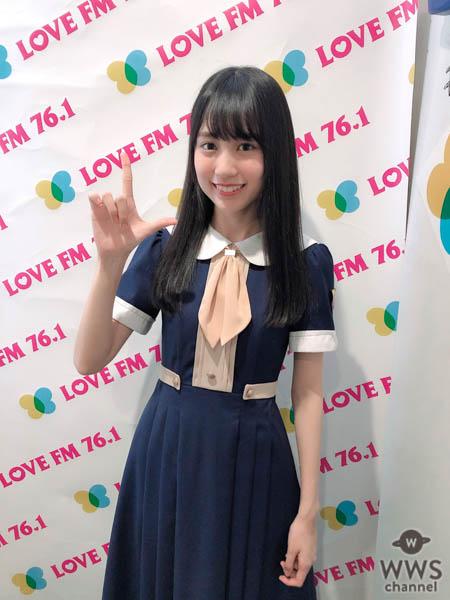 乃木坂46 4期生・賀喜遥香、一人全国キャンペーンで福岡上陸!