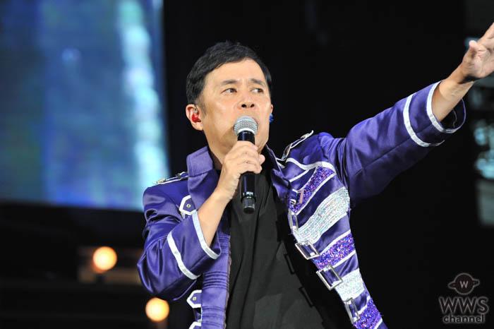 【ライブレポート】岡村隆史、「オールナイトニッポン歌謡祭」で横浜アリーナをトロッコで大熱唱!