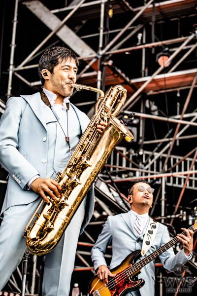 【ライブレポート】東京スカパラダイスオーケストラ、情熱のサウンドで氣志團万博2019 YASSAI STAGEが熱狂!