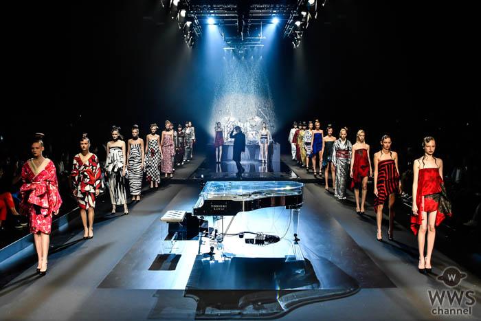 YOSHIKIプロデュース『YOSHIKIMONO』が「Rakuten Fashion Week TOKYO 2020 S/S」のオープニングに大抜擢