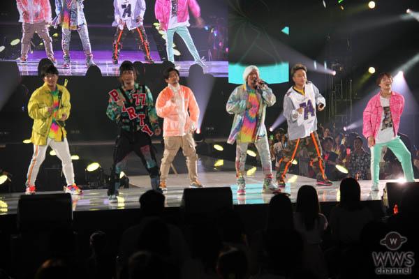 DA PUMP、神コレステージで『P.A.R.T.Y. ~ユニバース・フェスティバル~』熱唱で圧巻のフィナーレ!<神戸コレクション 2019 AUTUMN/WINTER>