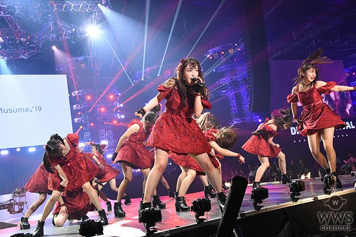 【ライブレポート】モーニング娘。'19が激熱なライブパフォーマンスで魅了! <テレビ朝日ドリームフェス2019>