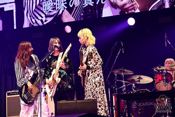 【ライブレポート】SCANDALがガールズパワー炸裂!SNSで話題の恋愛ソングを熱唱!〈テレビ朝日ドリームフェスティバル2019〉