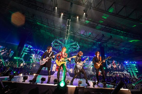 【ライブレポート】 X JAPAN・YOSHIKIの元に最強の無敵バンドが大集結!hideに美しい音色で「HURRY GO ROUND」を届ける!〈テレビ朝日ドリームフェスティバル2019〉