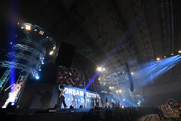 【ライブレポート】FANTASTICS from EXILE TRIBE、嬉しい衝動を抱き続け、熱いライブパフォーマンス!! <テレビ朝日ドリームフェス2019>