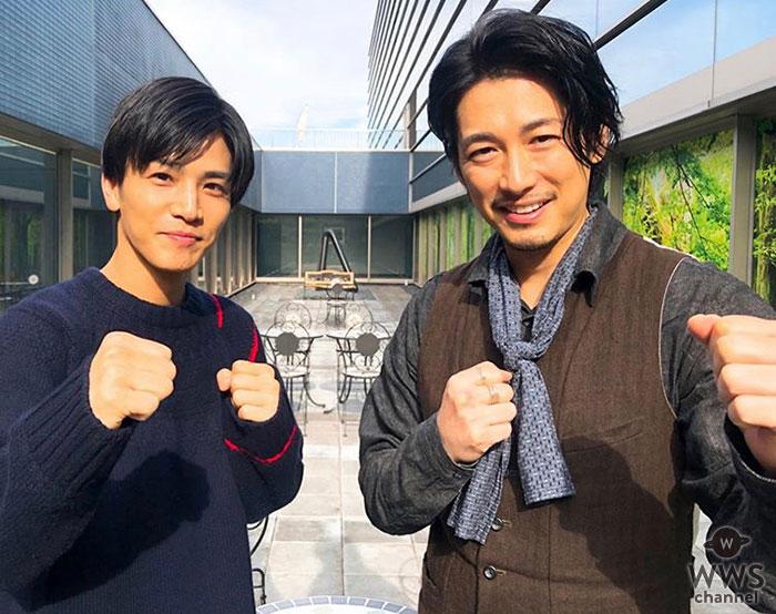 顔面最強バディ!岩田剛典とディーン・フジオカが踊る「ラタタダンス」が話題!