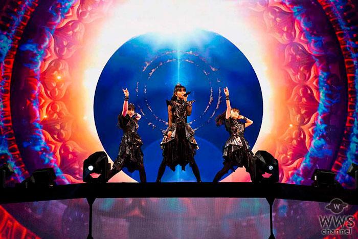 BABYMETAL、アメリカで初のアリーナ公演開催!