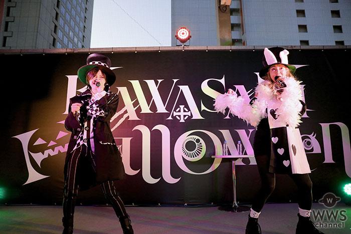 中村あゆみと相川七瀬による新プロジェクト「ANNA(アナ)」、日本最大級のハロウィンイベントに出演!ロックなハロウィンで魅了!