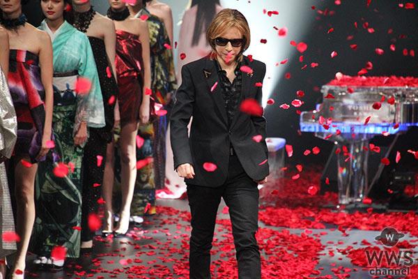 X JAPAN・YOSHIKIが着物ブランド「YOSHIKIMONO」ファッションショー開催!<Rakuten Fashion Week TOKYO 2020 S/S>