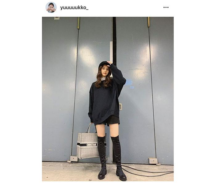 新木優子、ロングブーツ&ショートパンツ姿が話題に!「足ほそ!」「意外!でも似合ってる」