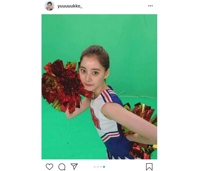 新木優子、チアダン姿の写真公開に「本当に天使でしかない」と反響!