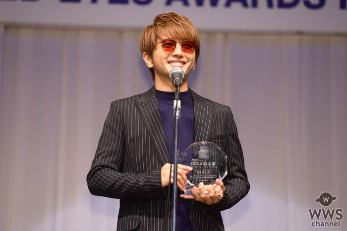 AAA・西島隆弘、ドームツアーへ向けて「万全な体調で臨めるよう療養をしております」<第32回 日本 メガネ ベストドレッサー賞>